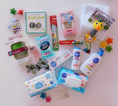 Happy Little Things Gift Hamper Box (New Baby)